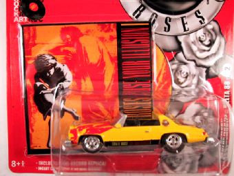 Johnny Lightning Rock Art, Release 1, 1977 Oldsmobile Delta, Guns N Roses