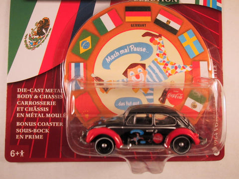 Johnny Lightning Coca Cola International, 1964 Volkswagen Beetle