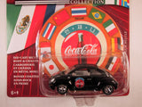Johnny Lightning Coca Cola International, 2000 Volkswagen New Beetle