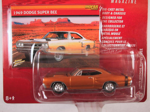 Johnny Lightning Mopar Muscle Magazine, Release 10, 1969 Dodge Super Bee