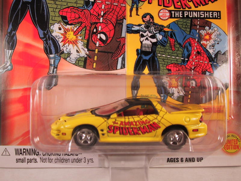 Johnny Lightning Marvel Comic Cars, Target Exclusive, 1998-2002 Pontiac Firebird Trans Am WS6