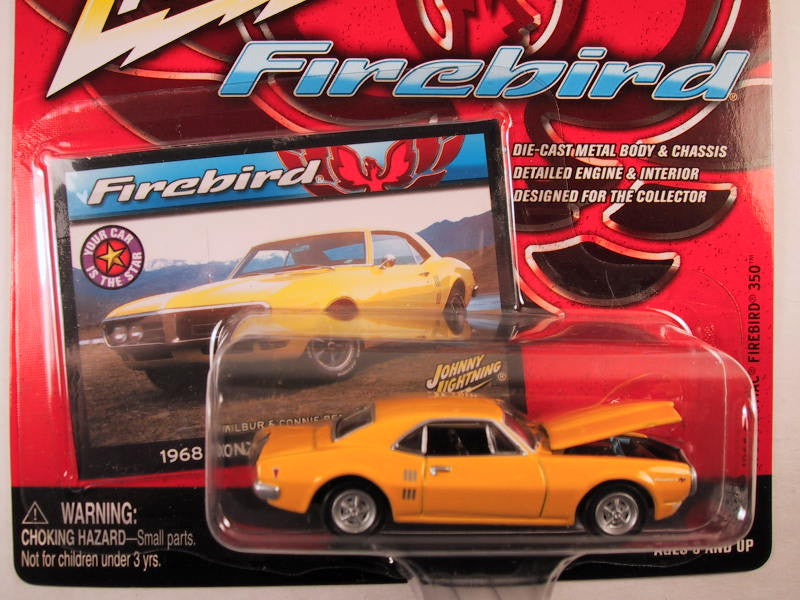 Johnny Lightning Firebirds, Release 2, 1968 Pontiac Firebird 350