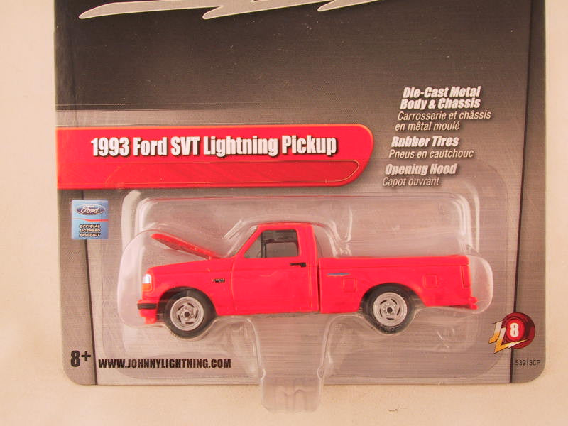 Johnny Lightning 2.0, Release 08, 1993 Ford SVT Lightning Pickup