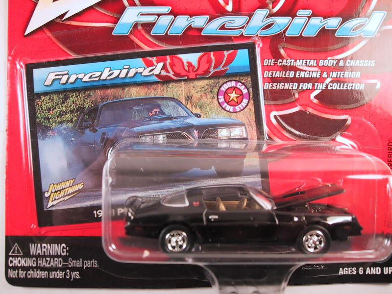 Johnny Lightning Firebirds, Release 2, 1978 Pontiac Firebird, Black
