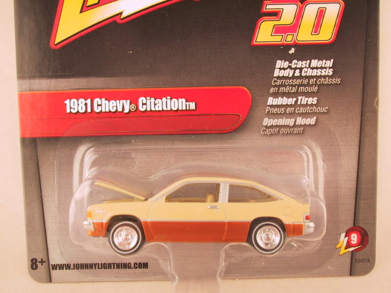 Johnny Lightning 2.0, Release 09, 1981 Chevy Citation