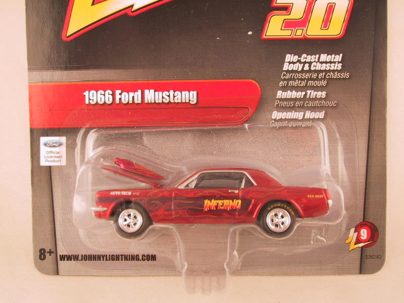 Johnny Lightning 2.0, Release 09, 1966 Ford Mustang