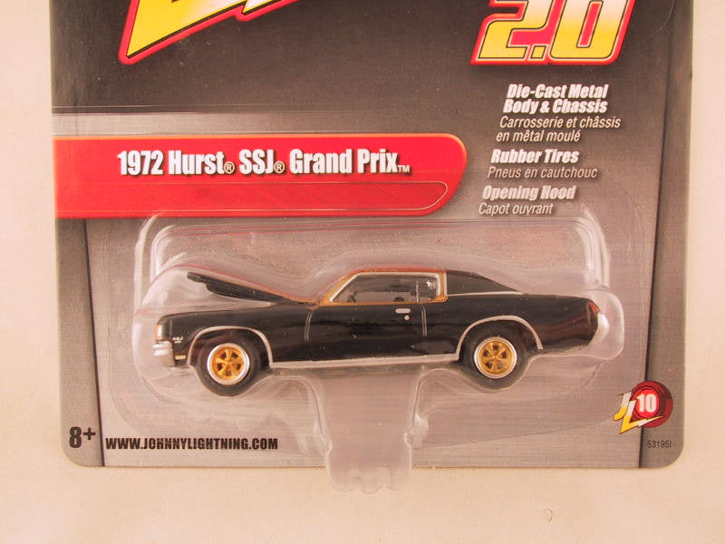 Johnny Lightning 2.0, Release 10, 1972 Hurst SSJ Grand Prix