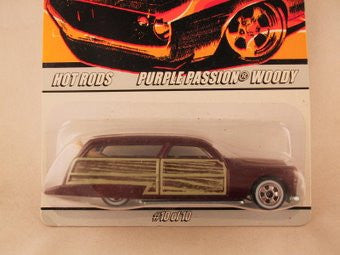 Hot Wheels Since '68 Hot Rods, Purple Passion Woody