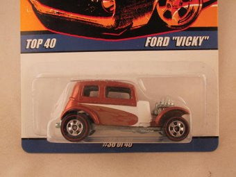 "Hot Wheels Since '68 Top 40, Ford ""Vicky"""