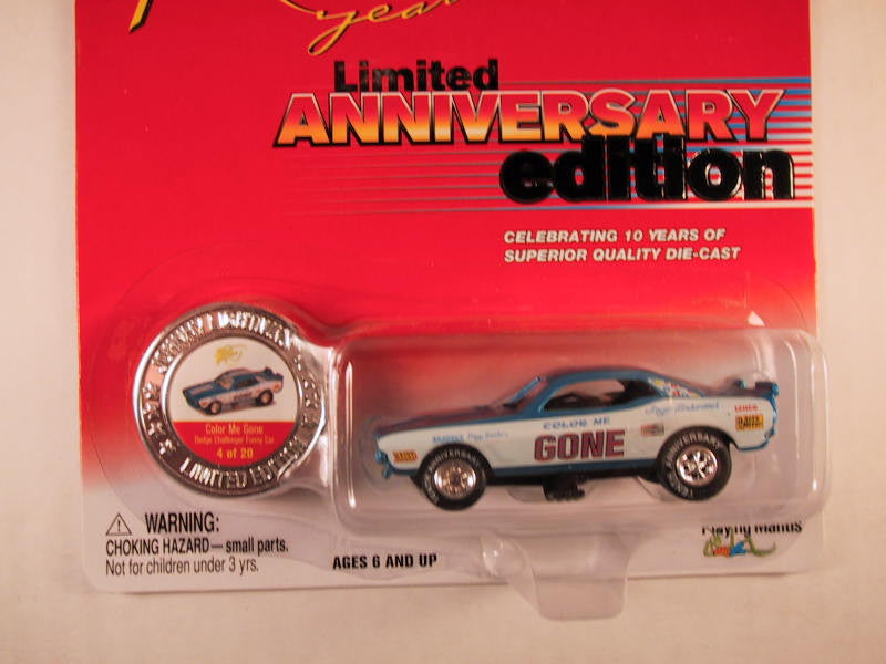 Johnny Lightning 10th Anniversary Edition, Color Me Gone