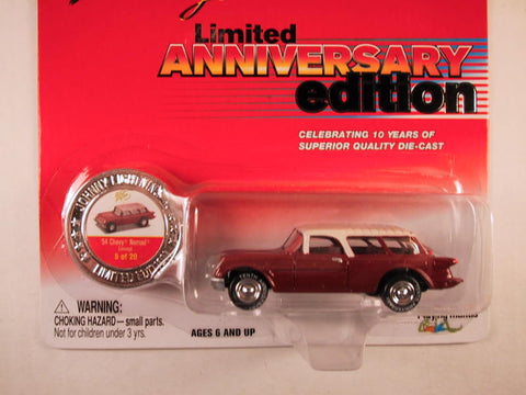 Johnny Lightning 10th Anniversary Edition, '54 Chevy Nomad Concept