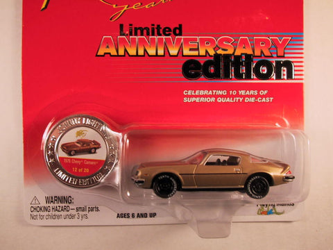 Johnny Lightning 10th Anniversary Edition, 1976 Chevy Camaro