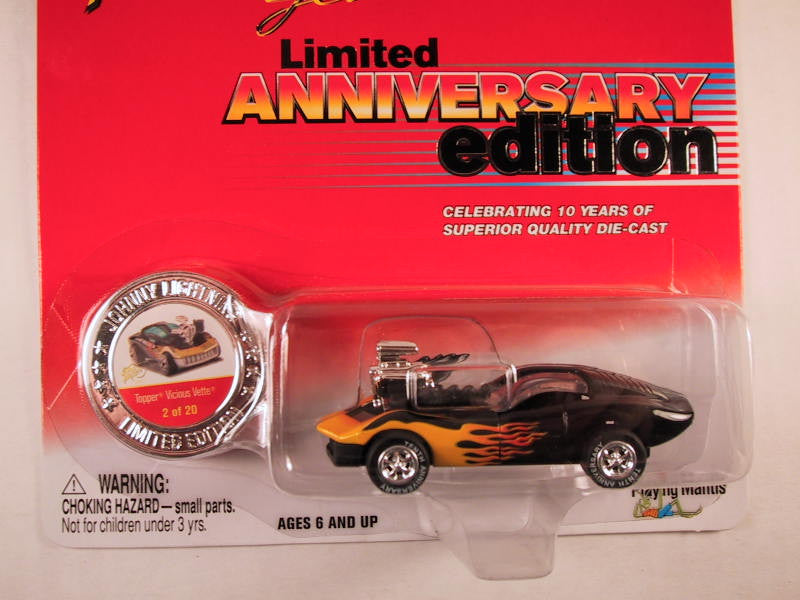 Johnny Lightning 10th Anniversary Edition, Topper Vicious Vette