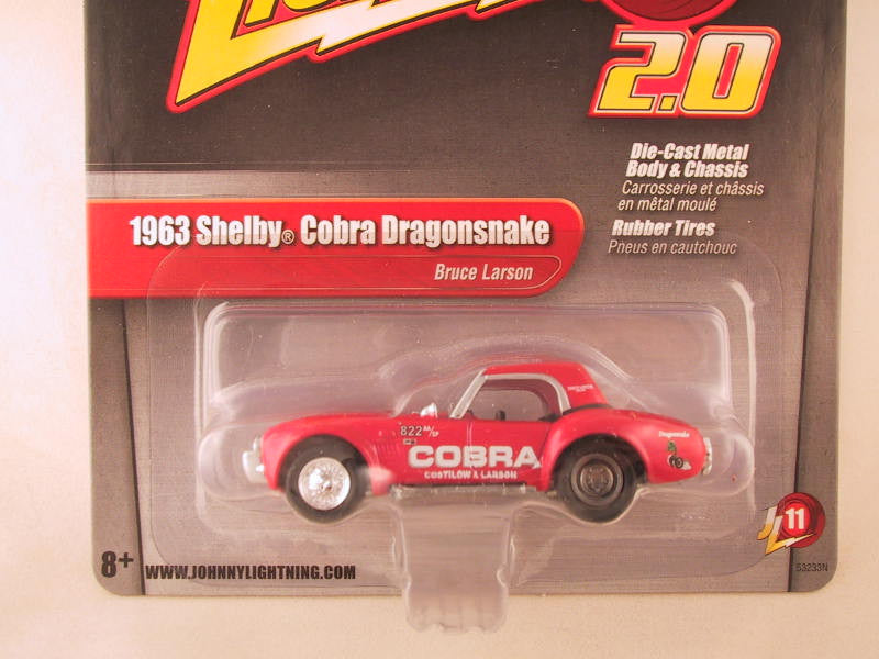 Johnny Lightning 2.0, Release 11, 1963 Cobra Dragonsnake