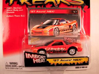 Johnny Lightning Street Freaks, Release 03, '97 Acura NSX, Import Heat