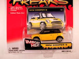Johnny Lightning Street Freaks, Release 03, Mini Cooper S, Import Heat