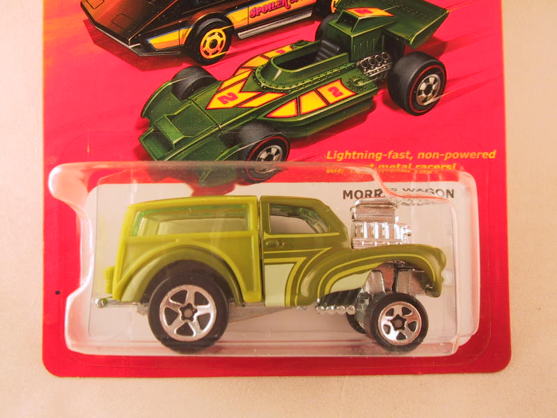 Hot Wheels Hot Ones Morris Wagon - Green