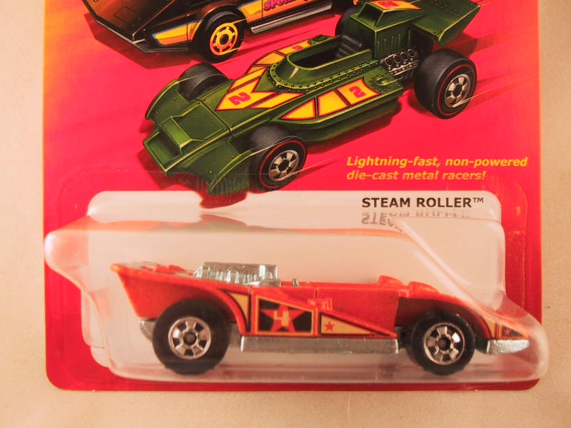 Hot Wheels Hot Ones Steam Roller