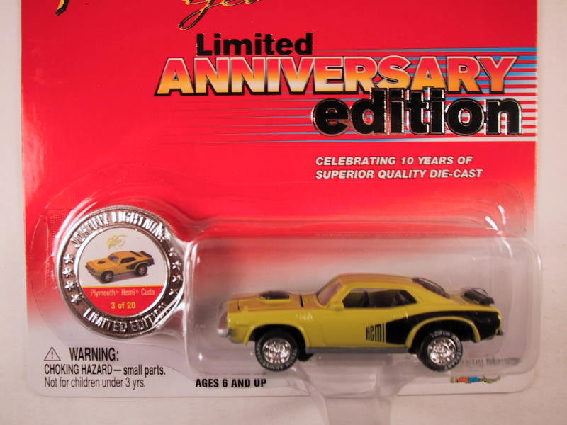 Johnny Lightning 10th Anniversary Edition, Plymouth Hemi Cuda