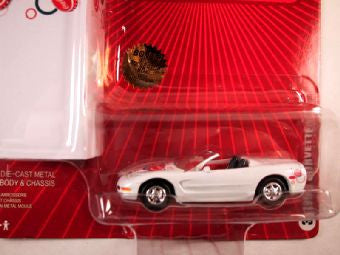 Johnny Lightning Coca Cola with Tin Box 2005, 1968 Corvette