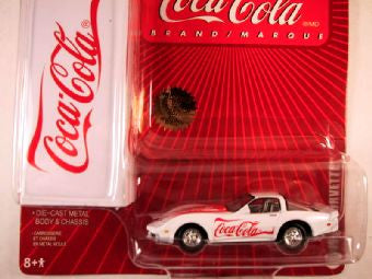 Johnny Lightning Coca Cola with Tin Box 2005, 1978 Corvette