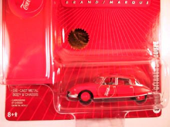 Johnny Lightning Coca Cola with Tin Box 2005, 1963 Citroen DS Coupe