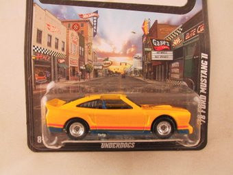 Hot Wheels Boulevard '78 Ford Mustang II - Damaged Card