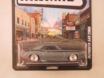 Hot Wheels Boulevard Plymouth AAR Cuda - Damaged Card