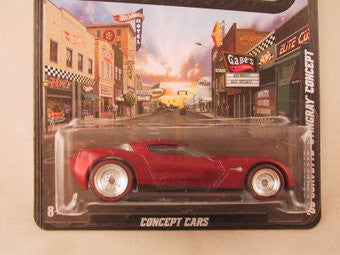Hot Wheels Boulevard '09 Corvette Stngray Concept