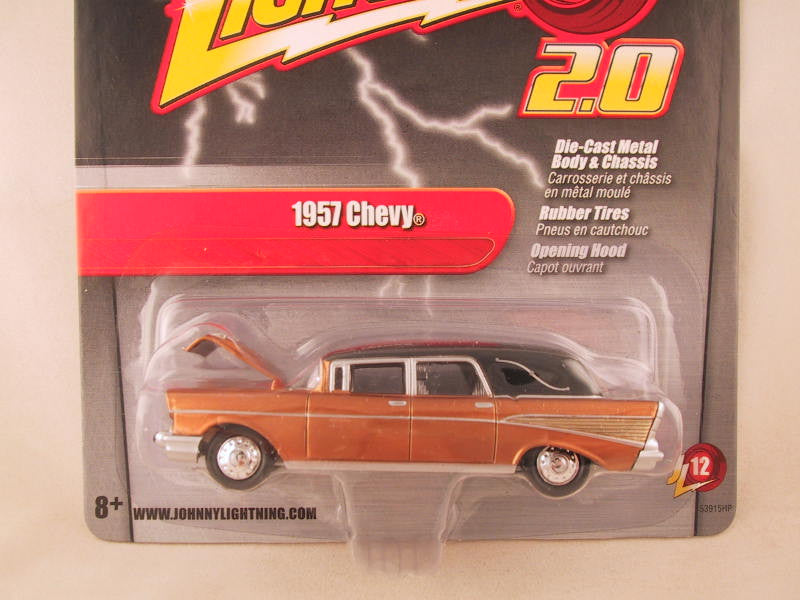 Johnny Lightning 2.0, Release 12, 1957 Chevy