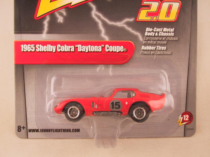 Johnny Lightning 2.0, Release 12, 1965 Shelby Cobra Daytona Coupe