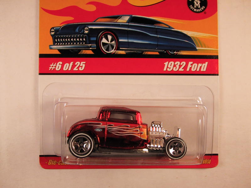 Hot Wheels Classics, Series 1, #06 1932 Ford, Red