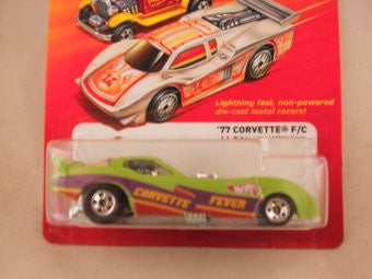 Hot Wheels Hot Ones '77 Corvette F/C