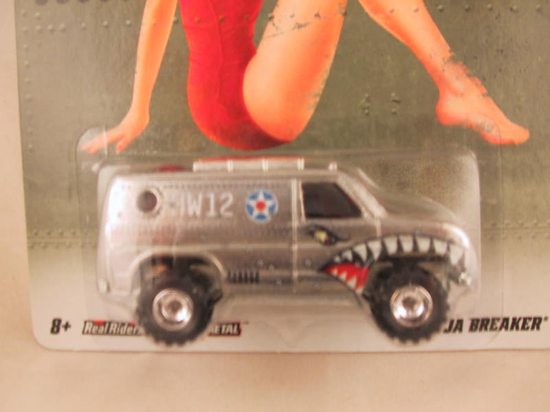 Hot Wheels Nostalgia, Nose Art, Baja Breaker - Damaged Card