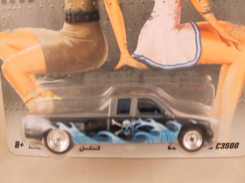 Hot Wheels Nostalgia, Nose Art, Customized C3500, Damaged Card