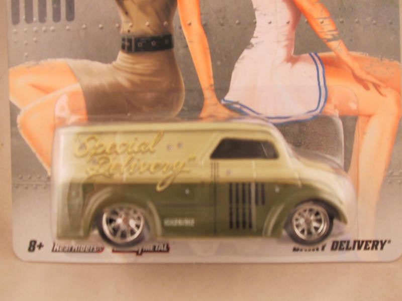 Hot Wheels Nostalgia, Nose Art, Dairy Delivery