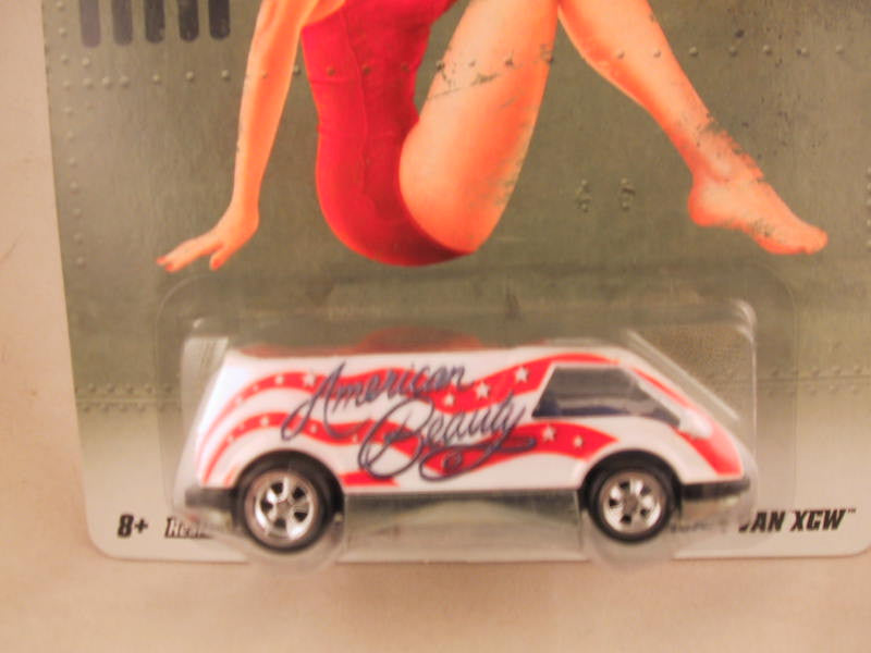 Hot Wheels Nostalgia, Nose Art, Dream Van XCW