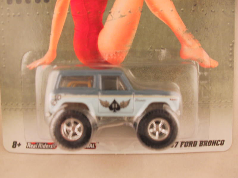 Hot Wheels Nostalgia, Nose Art, '67 Ford Bronco
