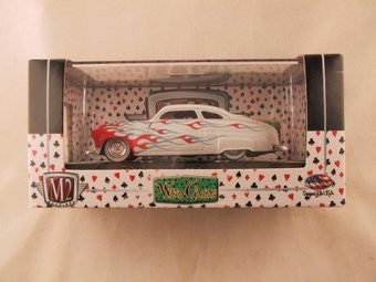 M2 Machines Wild Card Auto-Thentics, Release 02, 1949 Kustom Mercury, White