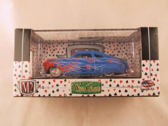M2 Machines Wild Card Auto-Thentics, Release 02, 1949 Kustom Mercury, Blue