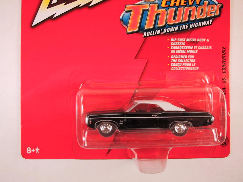Johnny Lightning Chevy Thunder, Release 5, 1969 Chevy Impala SS Convertible