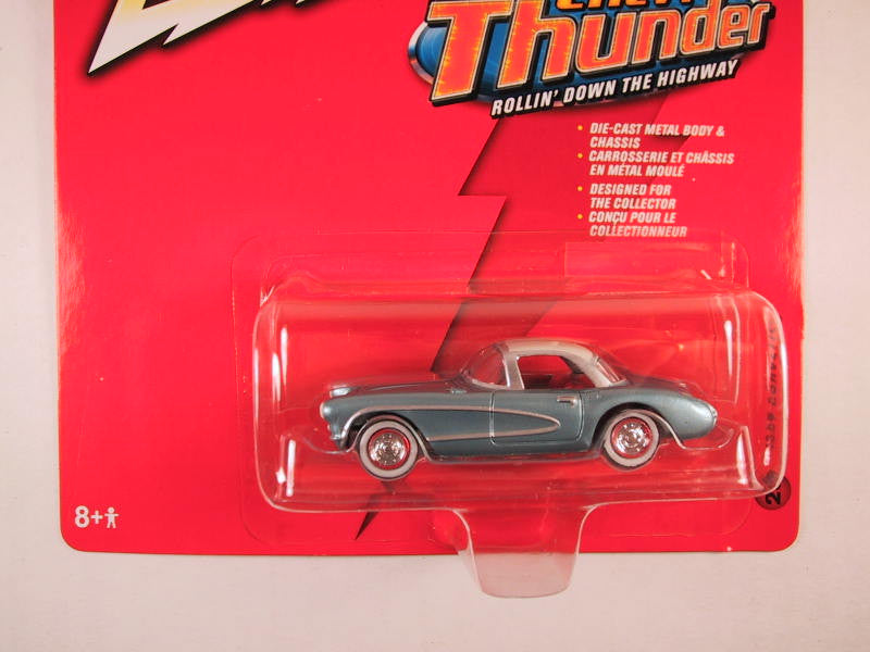 Johnny Lightning Chevy Thunder, Release 5, 1957 Corvette