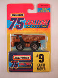Matchbox 75 Challenge Gold Vehicle, #09 Earth Mover