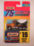 Matchbox 75 Challenge Gold Vehicle, #19 Cement Truck