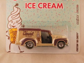 Hot Wheels Nostalgia, Carvel Ice Cream, Custom '52 Chevy