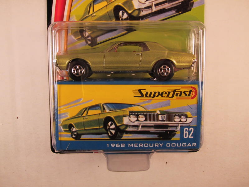 Matchbox Superfast 2004, #62 1968 Mercury Cougar