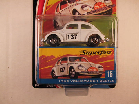 Matchbox Superfast 2004, #15 1962 Volkswagen Beetle