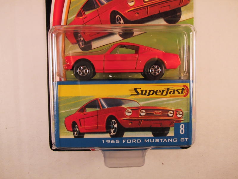 Matchbox Superfast 2004, #08 1965 Ford Mustang GT