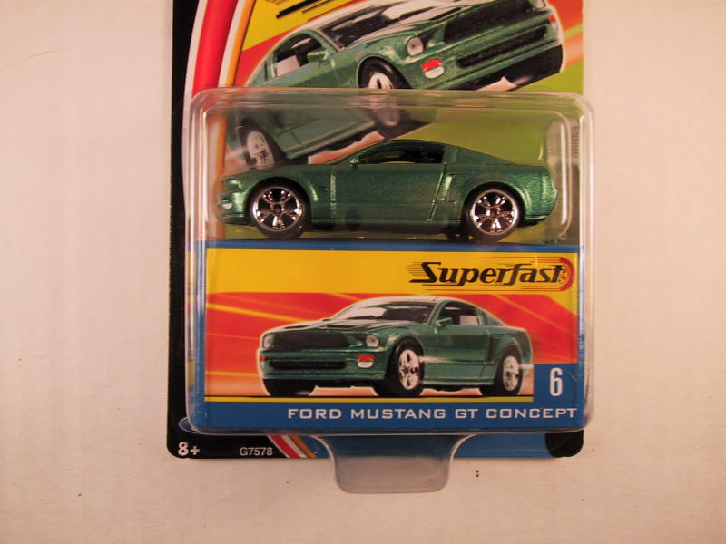 Matchbox Superfast 2004, #06 Ford Mustang GT Concept