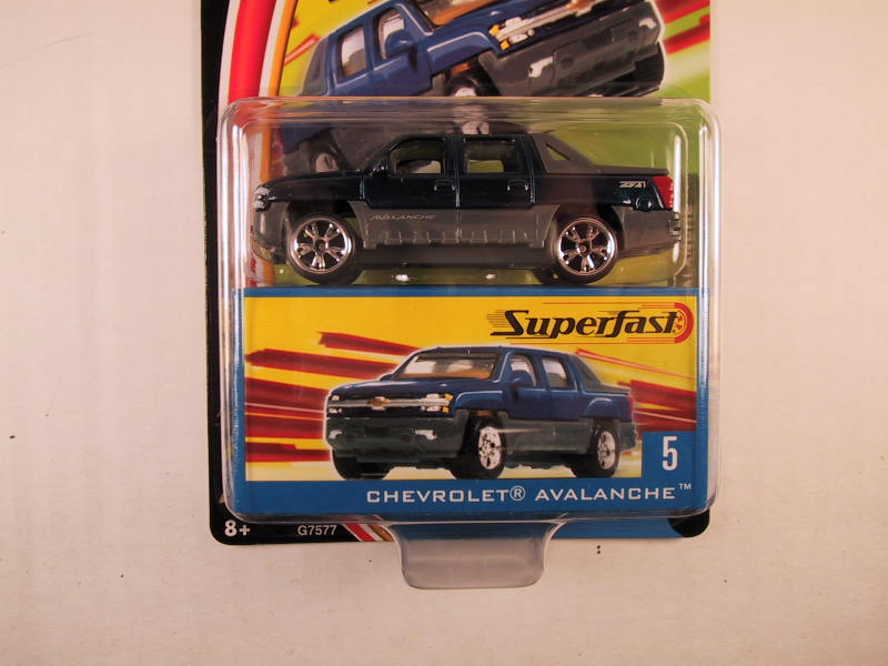 Matchbox Superfast 2004, #05 Chevrolet Avalanche